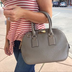 Burberry Heritage Taupe Grey Purse